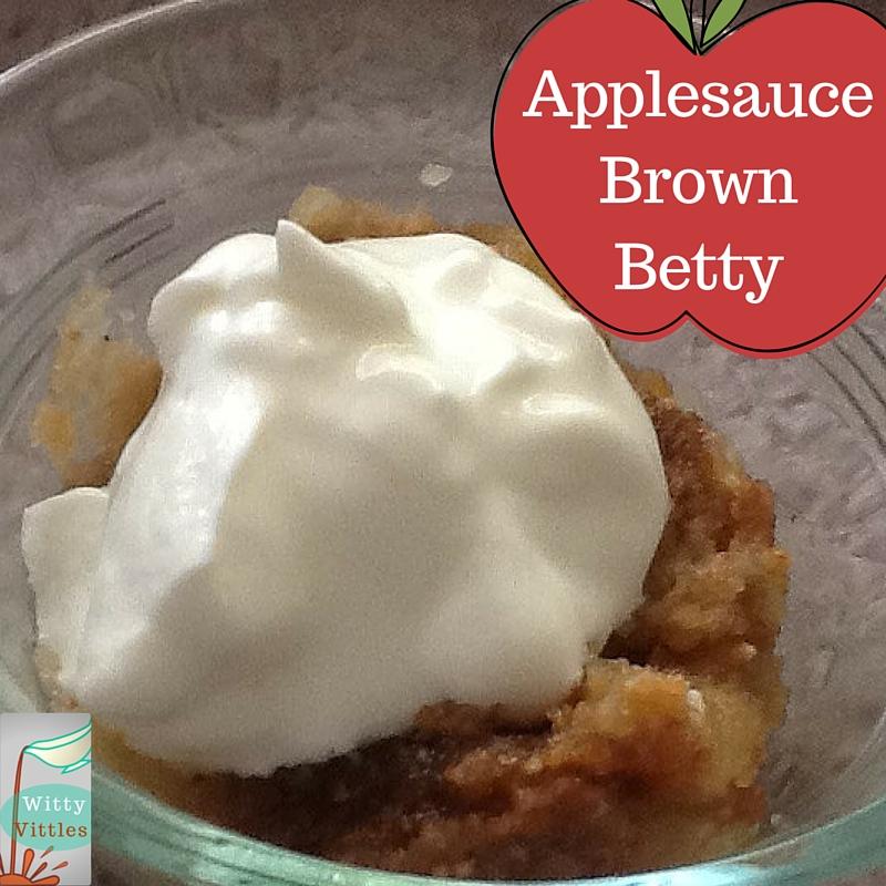 Applesauce Brown Betty