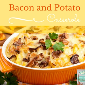 Bacon and Potato Casserole