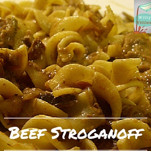 Basic Beef Stroganoff