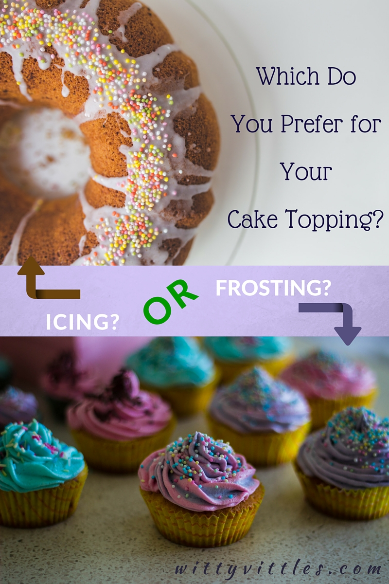 Choosing a Cake Topping – Icing or Frosting