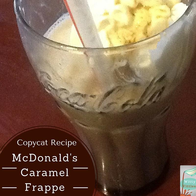 Copycat Recipe: McDonald's Caramel Frappe