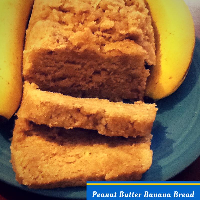 Fast Elvis: Microwave Peanut Butter Banana Bread
