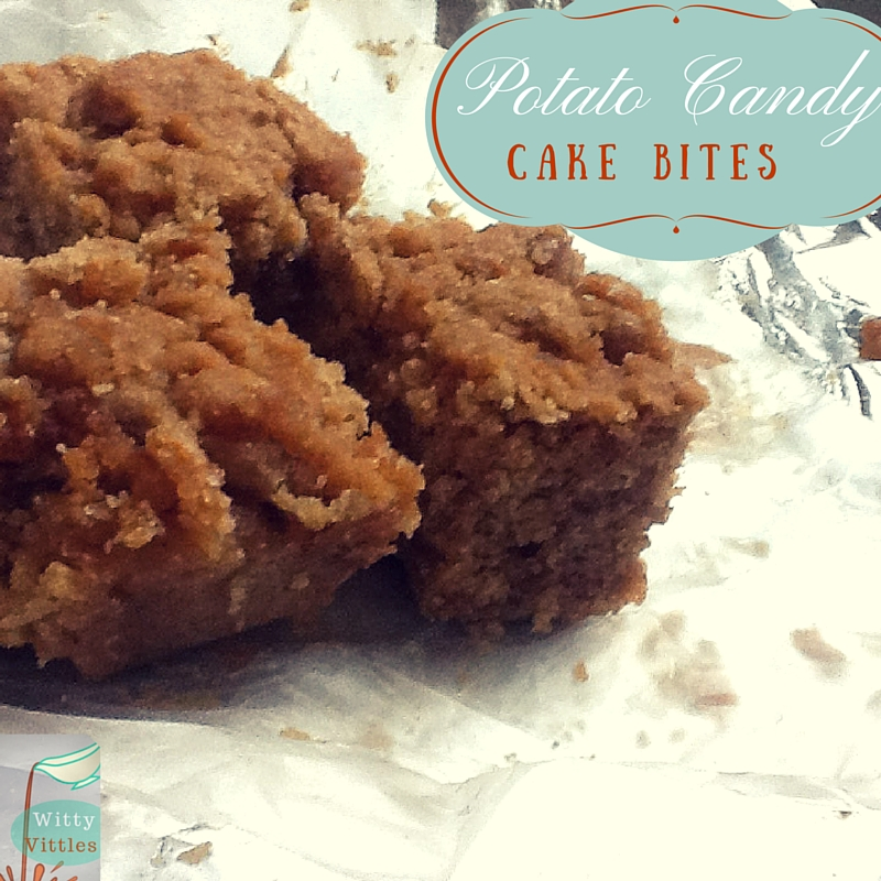 Potato Candy Cake Bites