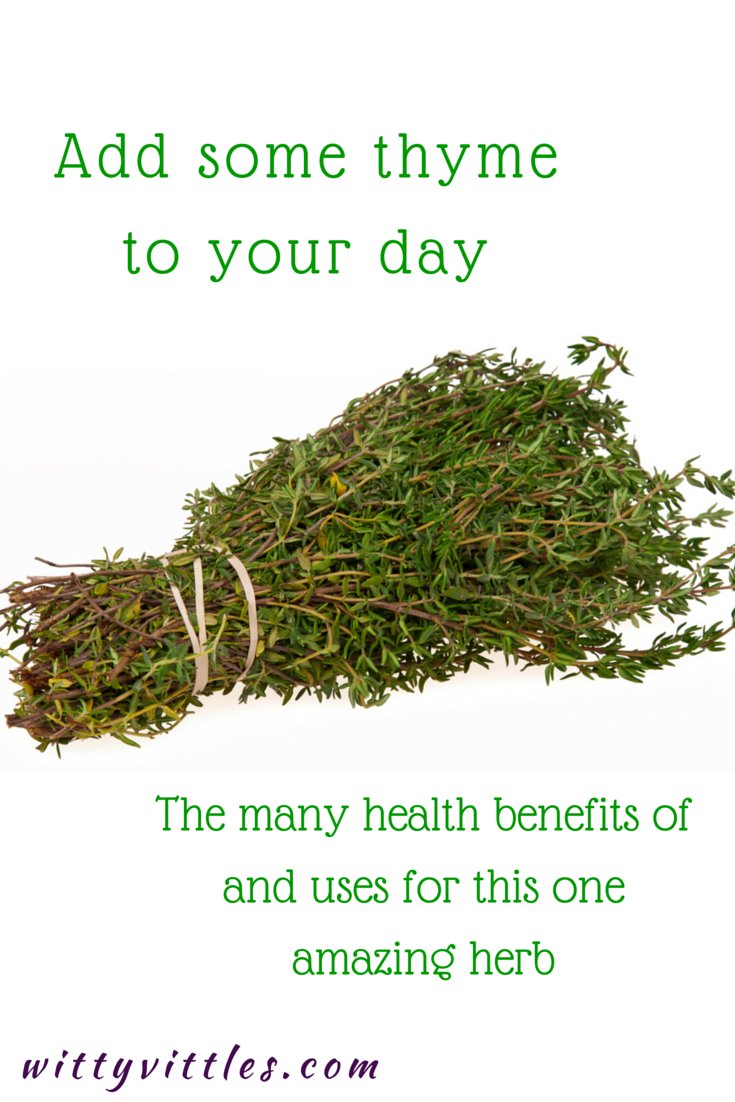 Adding Thyme to Your Day