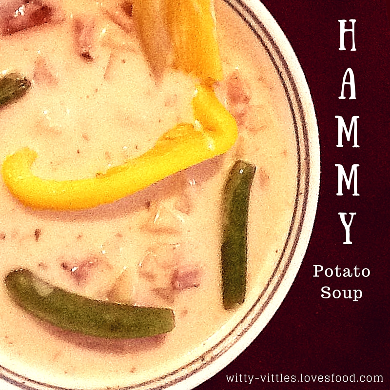 Crock-Pot Hammy Potato Soup